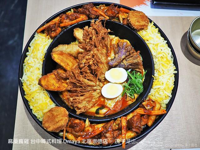麻藥瘋雞 台中韓式料理 Omaya 北區崇德店 19