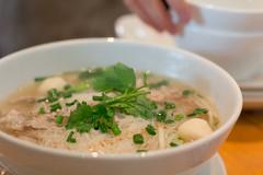 produce(0.0), congee(0.0), noodle(1.0), meal(1.0), noodle soup(1.0), pho(1.0), food(1.0), dish(1.0), soup(1.0), cuisine(1.0),