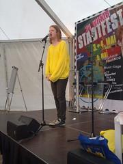 Moritz Beichl - Stadtfest Wien textstrom Poetry Slam