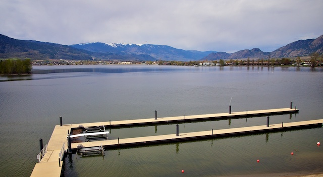 Osoyoos and Oliver in April