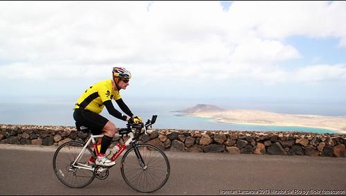 BIB0829 Ironman Lanzarote 2013 Mirador del Rio BIB 829 BIB829