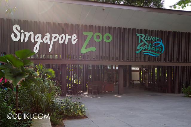 River Safari / Singapore Zoo entrance