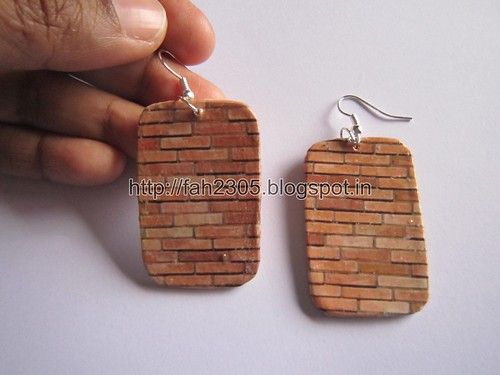 Handmade Jewelry - Card Paper Earrings  (Album 3) (22) by fah2305