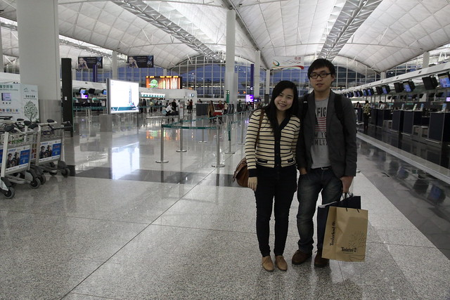 香港機場 離港大廳