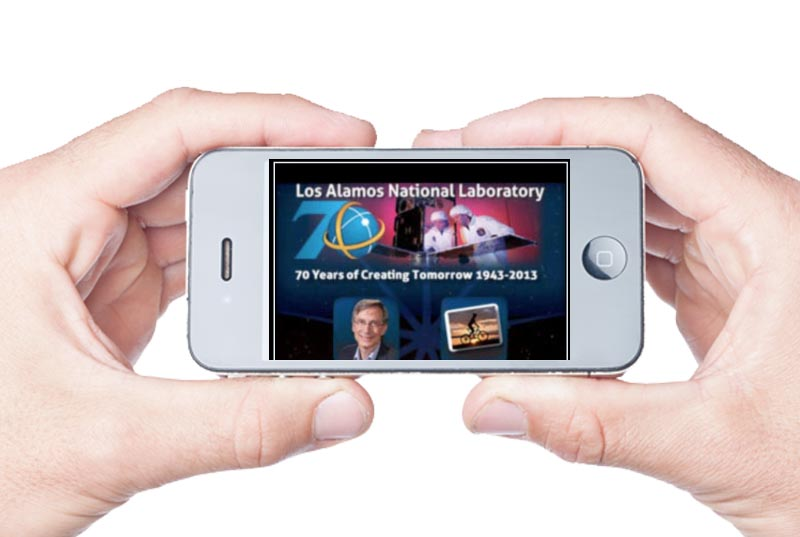 Download the Lab's 70th anniversary app on iTunes for free