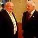 Luxemburg Delegate C. Eschette - FAI Executive Director B. Neuenschwander