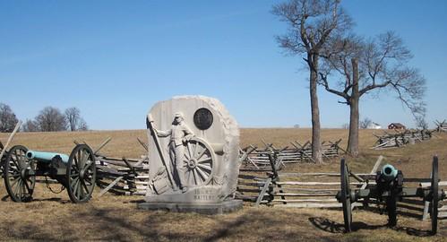 Gettysburg, Trostle Farm, 15th NY Artillery