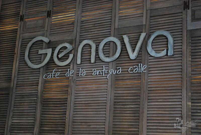 Genova: Café de la antigua calle