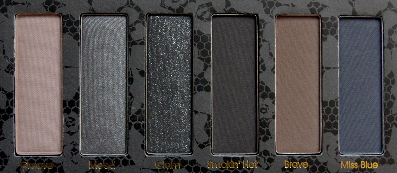 Viva la Diva Smokey eye shadow palette2
