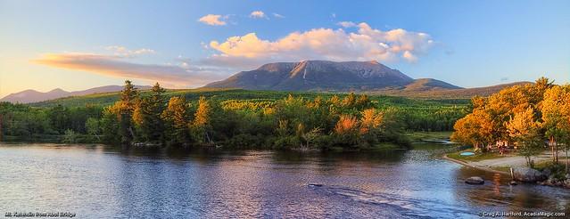Mt. Katahdin, Maine USA