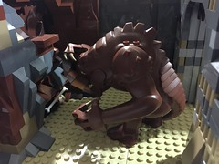 Expanded Lego Jabba's Palace and Rancor Pit