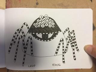 8 Inktober 2016 - Spider
