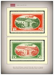 Stamps Lettland Latvija