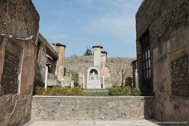 Pompei, Casa di Marco Lucrezio sulla via Stabiana