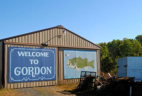 shed gordon gordonwi gordonwisconsin fish lure bass sign wisconsin wi midwest unitedstates usa unitedstatesofamerica