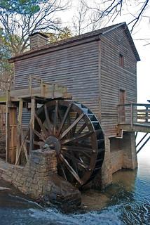 Grist Mill - Stone Mountain, Georgia