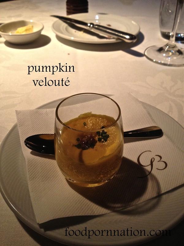 pumpkin veloute