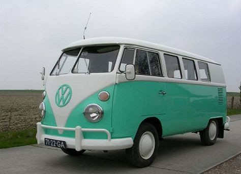71-22-GA Volkswagen Transporter kombi 1967