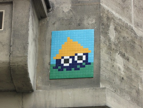 Space Invader PA_1???, Paris 20eme