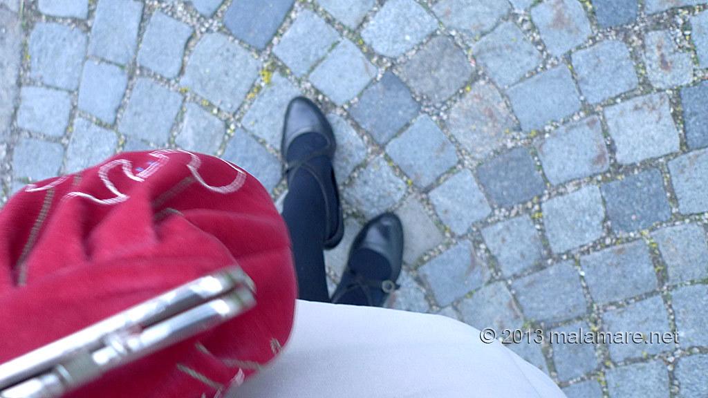 Vienna cobblestone street