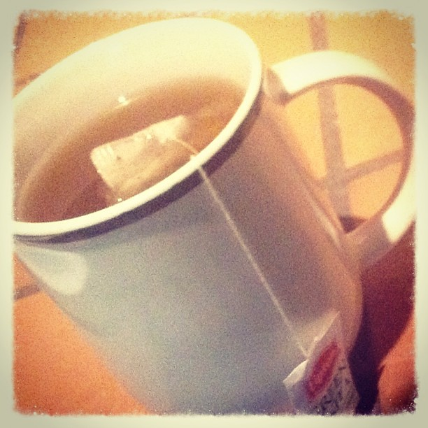 124.365 {Hot tea...perfect for a rainy day...}