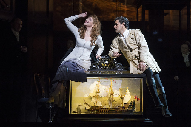 Joyce DiDonato as Elena and Juan Diego Flórez as Uberto in La donna del lago © ROH / Bill Cooper 2013