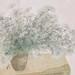 吳士偉‧楚楚‧水墨紙本設色‧56x67.5 cm‧2012