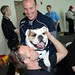 The Butler Bulldogs visit Ed Carpenter