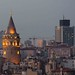 Galata tower and the rising towers