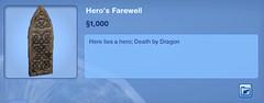 Hero's Farewell