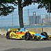 Mike Conway on track at Belle Isle