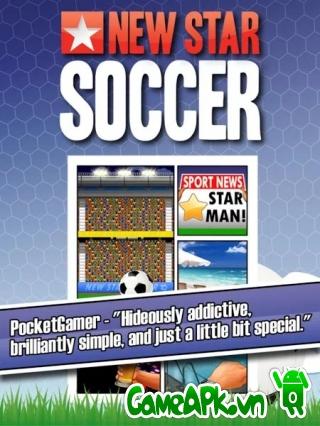 New Star Soccer v2.10 hack full tiền cho Android