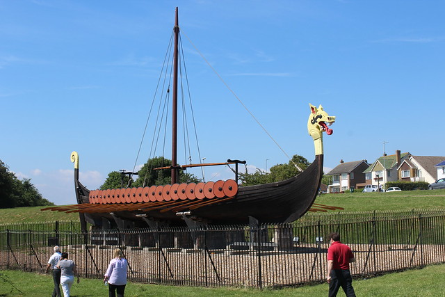 The Cliffsend Viking Ship