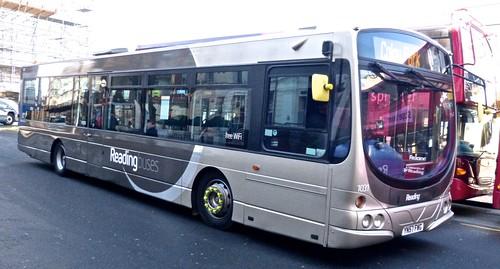 YN57 FWG 'Reading Buses' 1031 Scania 230UB / Wright Solar on 'Dennis Basfords' railsroadsrunways.blogspot.co.uk