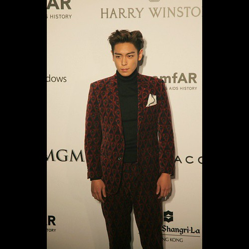 TOP - amfAR Charity Event - Red Carpet - 14mar2015 - hallyutimes - 03