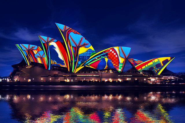 Lighting The Sails. Songlines. Artwork by Karla Dickens