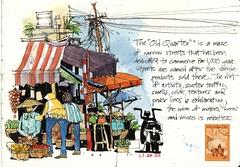 Old Quarter market, Hanoi Vietnam