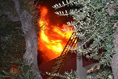 Northridge Apartment Fire Injures Firefighter, Displaces Five