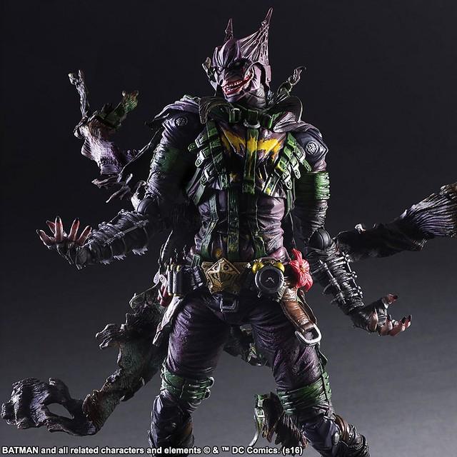 高譚市光與闇的結合!Play Arts 改 - 蝙蝠俠:惡棍畫廊 - 小丑 プレイアーツ改 Rogues Gallery Joker