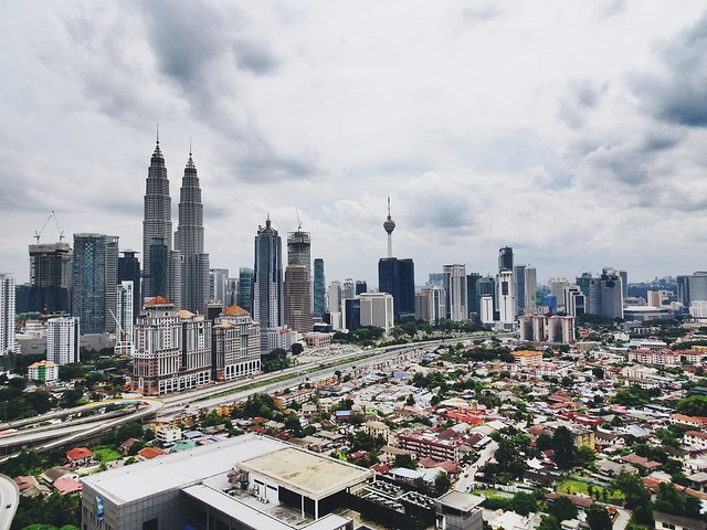 Kuala Lumpur from the other side