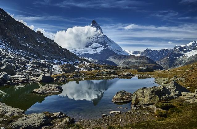 Matterhorn, Riffelsee, Zermatt