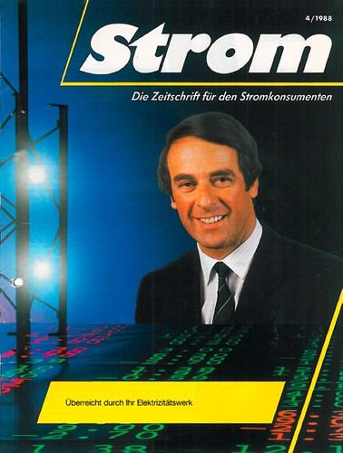 «Die Elektrizität» ab 1988 in grösserem Format und als «Strom»