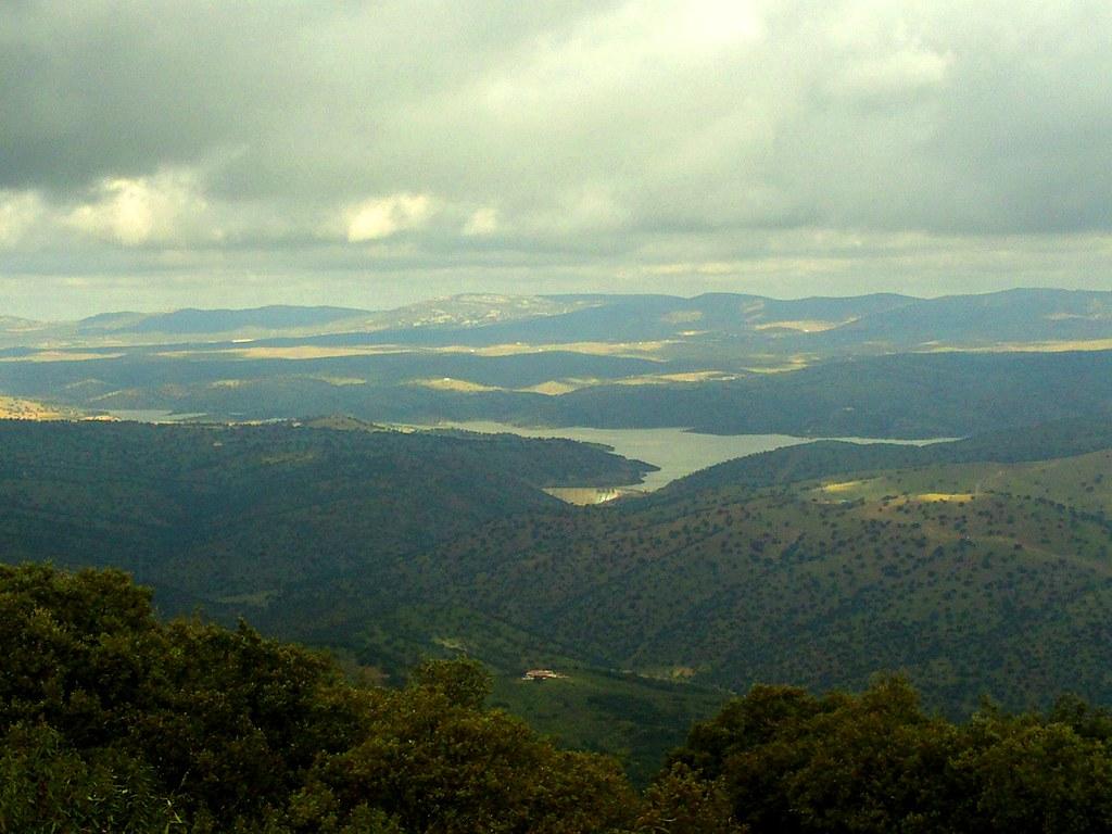 Pantano de Montoro en el Valle de Alcudia