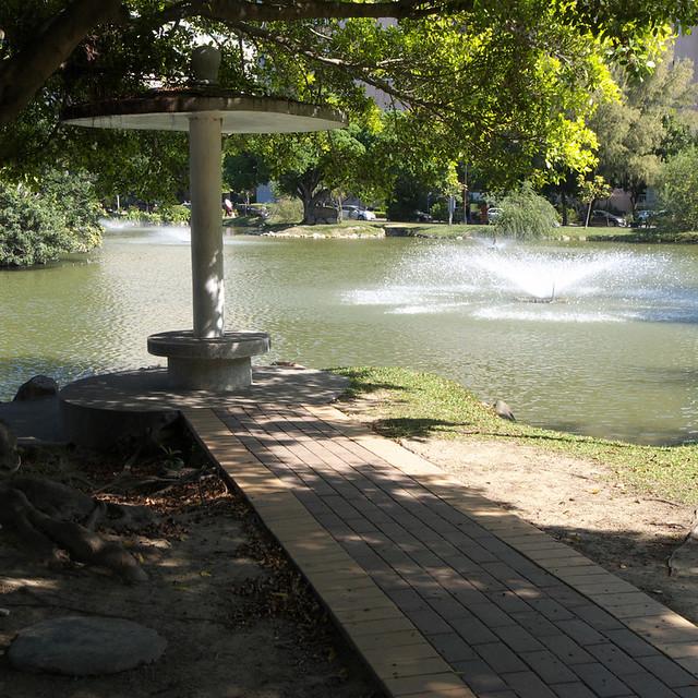 中部校園景色