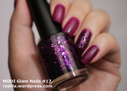 MODI Glam Nails in Devil Tears