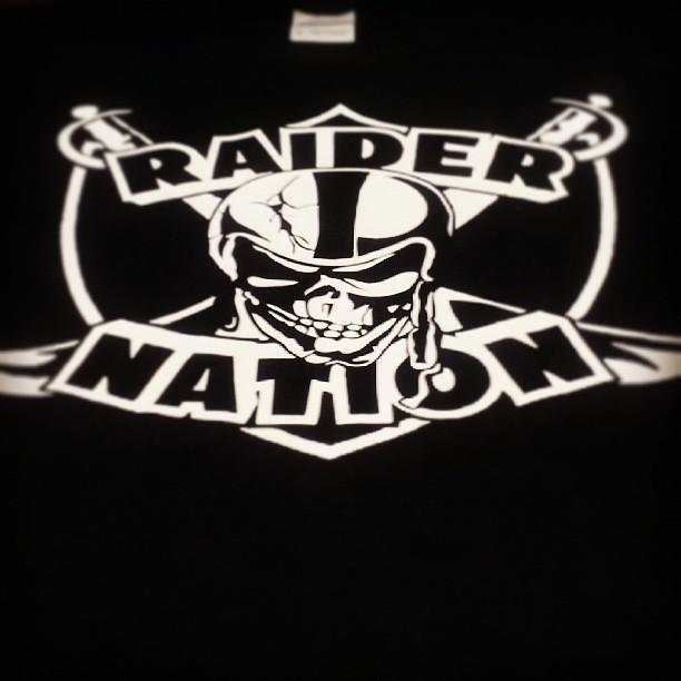 raider nation skull amp swords shirt flickr photo sharing