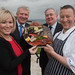 Promoting the 2013 Carlingford Oyster Festival, 3 May 2013