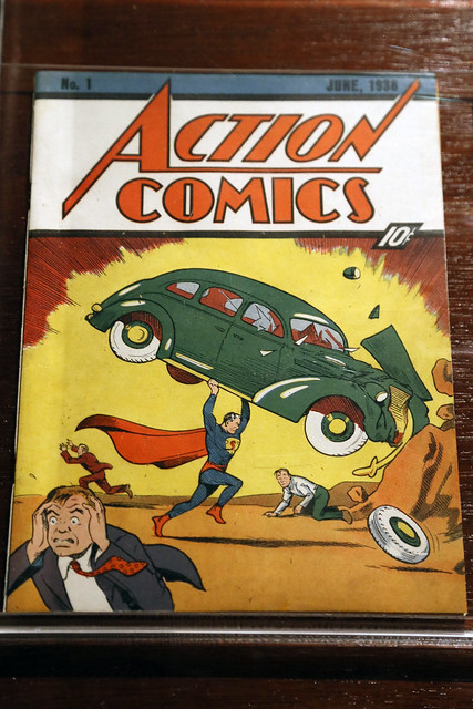 Action Comics No. 1 - The First Appearance of Superman ...