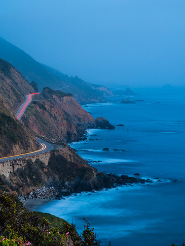 Blue Hour, California Highway