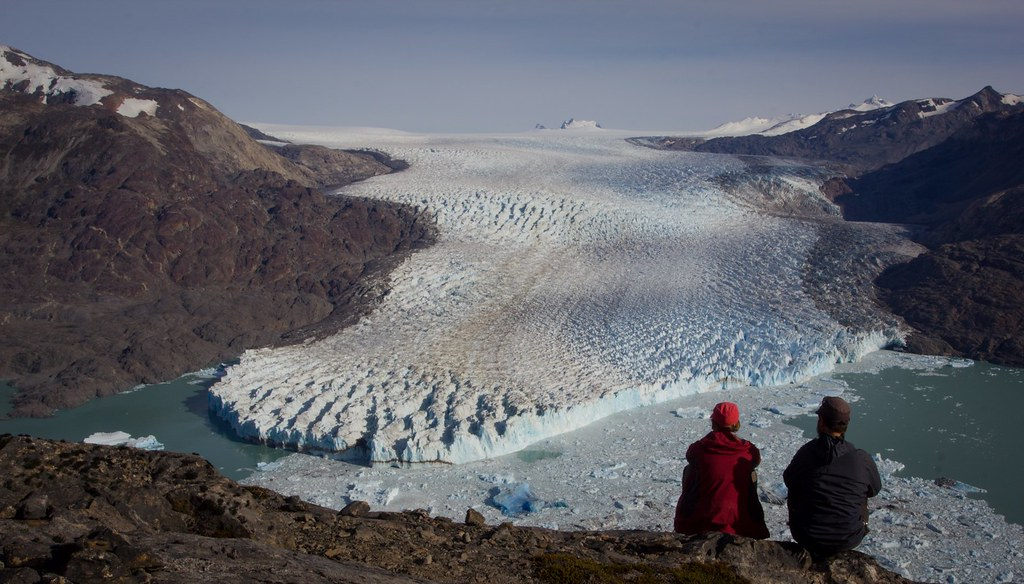 April. Glaciar O'Higgins. Southern Patagonian Ice Cap. Aysen. Chile.
